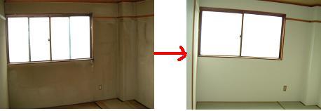 室内修理(壁)