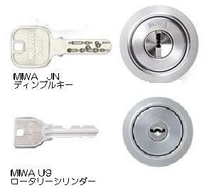 MIWAの防犯鍵
